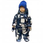 Комбинезон-трансформер Lapland 19-3 Лоло цвет: синий