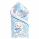 Комплект на выписку Alis Подарок, 5 предметов цвет: голубой