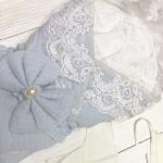 Конверт-одеяло на выписку Вязанный на меху цвет: голубой