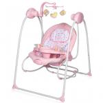 Электрокачели Lorelli Tango цвет: Розовый/Pink 1903