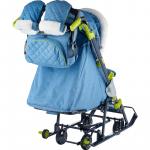 Санки-коляска Ника-Детям НД7-3 цвет: синий джинс