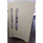 Кроватка-маятник+ящик Топотушки Каролина (40) цвет: слоновая кость