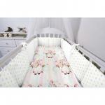 Комплект в кроватку Топотушки Радужный единорог, 6 предметов, 632