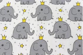 Комплект постельного белья Топотушки Слонёнок с короной 3 предмета 396