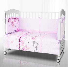 Комплект в детскую кроватку Pituso Игрушка 6 предметов (Сиреневый) KT25