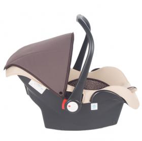 Автокресло Leader Kids Baby Leader Comfort II группа 0+ (0-13 кг) цвет: бежевый/принт zuma
