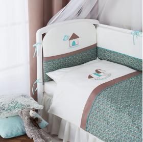 Комплект в кроватку Perina Жила-была лошадка 6 предметов ЖБ6-01.4