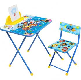 Фото: Комплект детской мебели стол+стул Nika Щенячий патруль Щ1