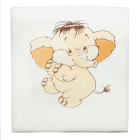 Одеяло-плед (интерлок) Слоник 80×90 Арт. К013-15