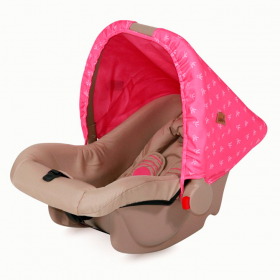 Автокресло Lorelli Bodyguard группа 0 (от 0 до 10 кг) Розово-бежевый/Rose&Beige Princess 1703