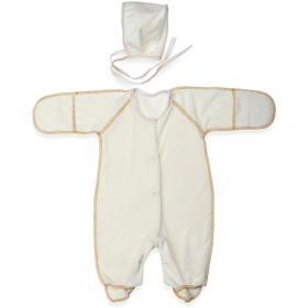 Набор на выписку Золотко Зима с Конвертом для новорожденного Н113