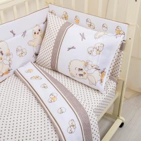 Комплект в кроватку Цыплята 3 предмета 10004 цвет: бежевый