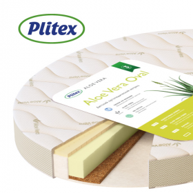 Детский матрас Plitex Aloe Vera Oval 125х75х10