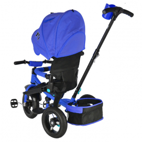 Велосипед трехколесный Trike City JD5B, цвет: синий