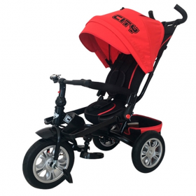 Велосипед трехколесный Trike City JD5R, цвет: красный