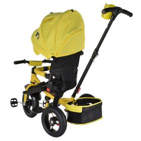Велосипед трехколесный Trike City JD5Y, цвет: желтый