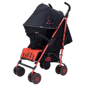 Коляска-трость прогулочная Rant Atlanta цвет: черный/красный