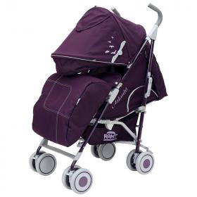Коляска-трость прогулочная Rant Atlanta цвет: фиолетовый/розовый