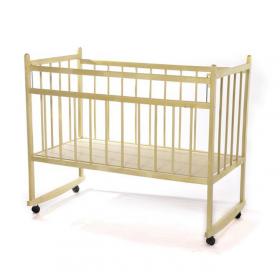 Детская кроватка-качалка Мишутка-13 цвет: ваниль