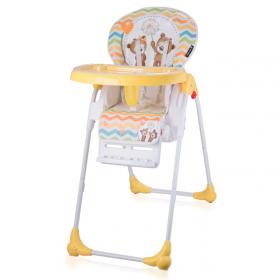 Стульчик для кормления Lorelli Oliver 1717 цвет: желтый/daisy bears