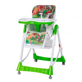 Стульчик для кормления Lorelli Primo 1722 цвет: зеленый/green&white friends