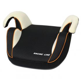Автокресло (бустер) Rant Racer группа 2/3 (15 до 36 кг) цвет: карбон/светлый оранжевый кант