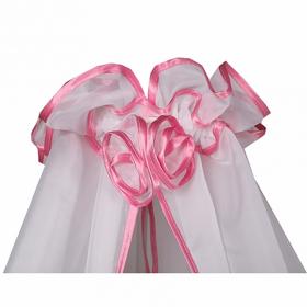 Балдахин для детской кроватки Bambola цвет: розовый