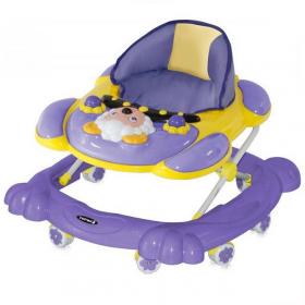 Ходунки Bertoni Animal EN 0007 цвет: фиолетовый