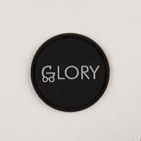 Коляска 2 в 1 Glory 1001 цвет: белый