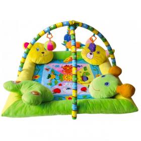 Развивающий игровой коврик с 4-мя подушечками Lorelli Toys 1030036