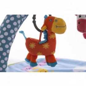 Развивающий коврик-сумка с дугами Biba Toys Веселая ферма BP085