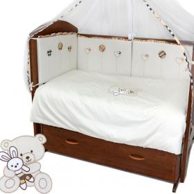 Комплект в кроватку Эклер 3 предмета
