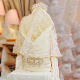 Одеяло на выписку Арго Корона 066 цвет: шампань