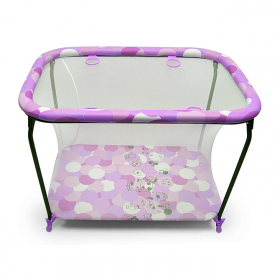 Манеж детский Globex Классика 115х80х77 цвет: фиолетовый