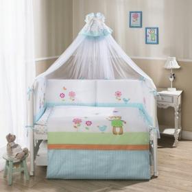 Комплект в кроватку Perina Глория Hello 7 предметов Г7-02.0