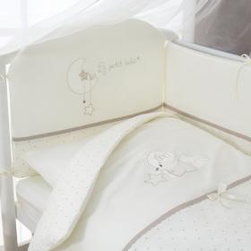 Комплект в кроватку Perina Le petit bebe 6 предметов ПБ6-01.5 цвет: молочно-кофейный