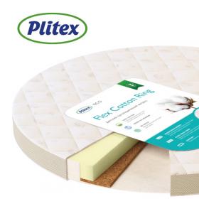 Детский матрас Plitex Flex Cotton Ring 64х64х10