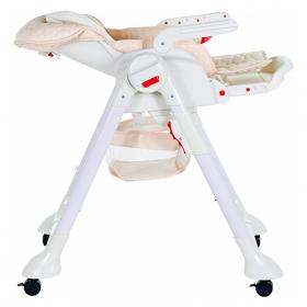 Стульчик-шезлонг Sweet Baby Luxor Classic с маятником цвет: кремовый