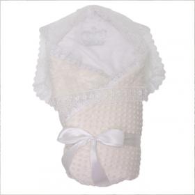 Конверт-одеяло на выписку Топотушки Арина 02.17 цвет: экрю