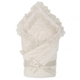 Конверт-одеяло на выписку Топотушки Ксения 02.18 цвет: экрю