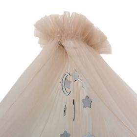 Балдахин для кроватки Alis Карамель 84С4 цвет: бежевый
