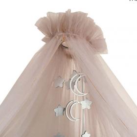 Балдахин для кроватки Alis Карамель 85С4 цвет: пудра
