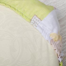 Комплект в кроватку Мишка 6 предметов 10608 цвет: зеленый