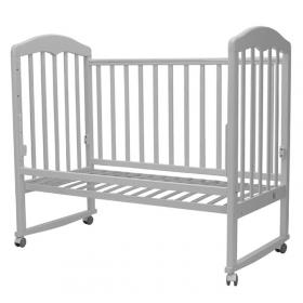 Кроватка-качалка Топотушки Сильвия-2 цвет: белый