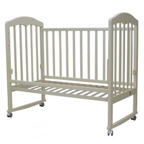 Кроватка-качалка Топотушки Сильвия-2 цвет: слоновая кость