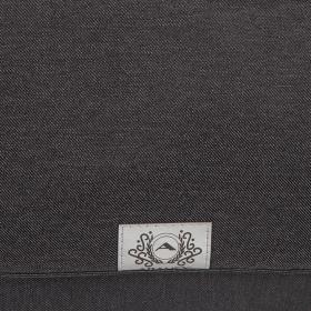 Коляска 2 в 1 Adamex Reggio Y-37 цвет: графит/серый принт