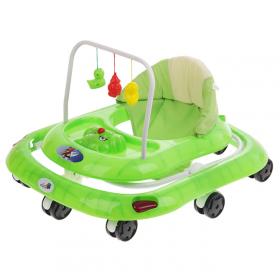 Детские ходунки Alis Маленький водитель, цвет: зеленый