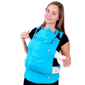 Эрго-рюкзак BiBi Лен, 2 варианта ношения, до 14 кг, цвет: в ассортименте