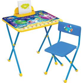 Комплект детской мебели стол+стул Nika Познайка: Математика в космосе КП2/8