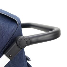 Коляска прогулочная Rant Vega цвет: синий/полосы